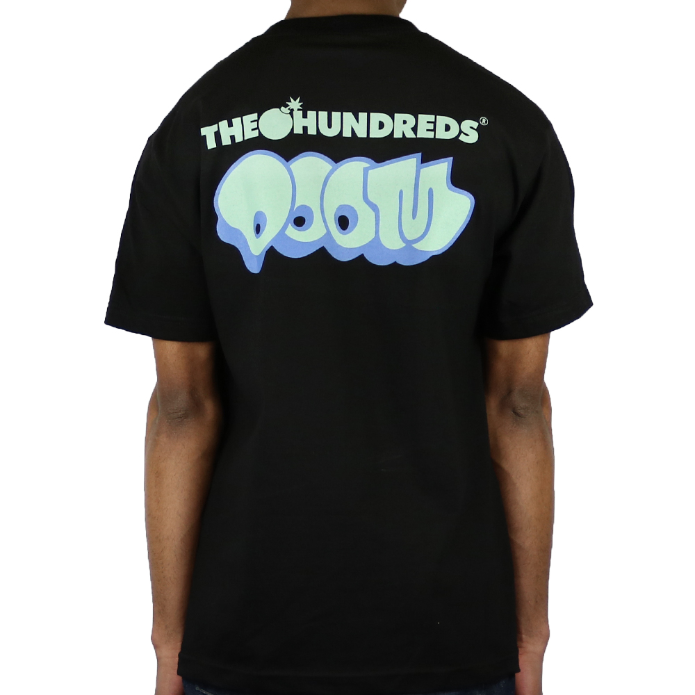 The Hundreds MF Doom Villy T-Shirt Black