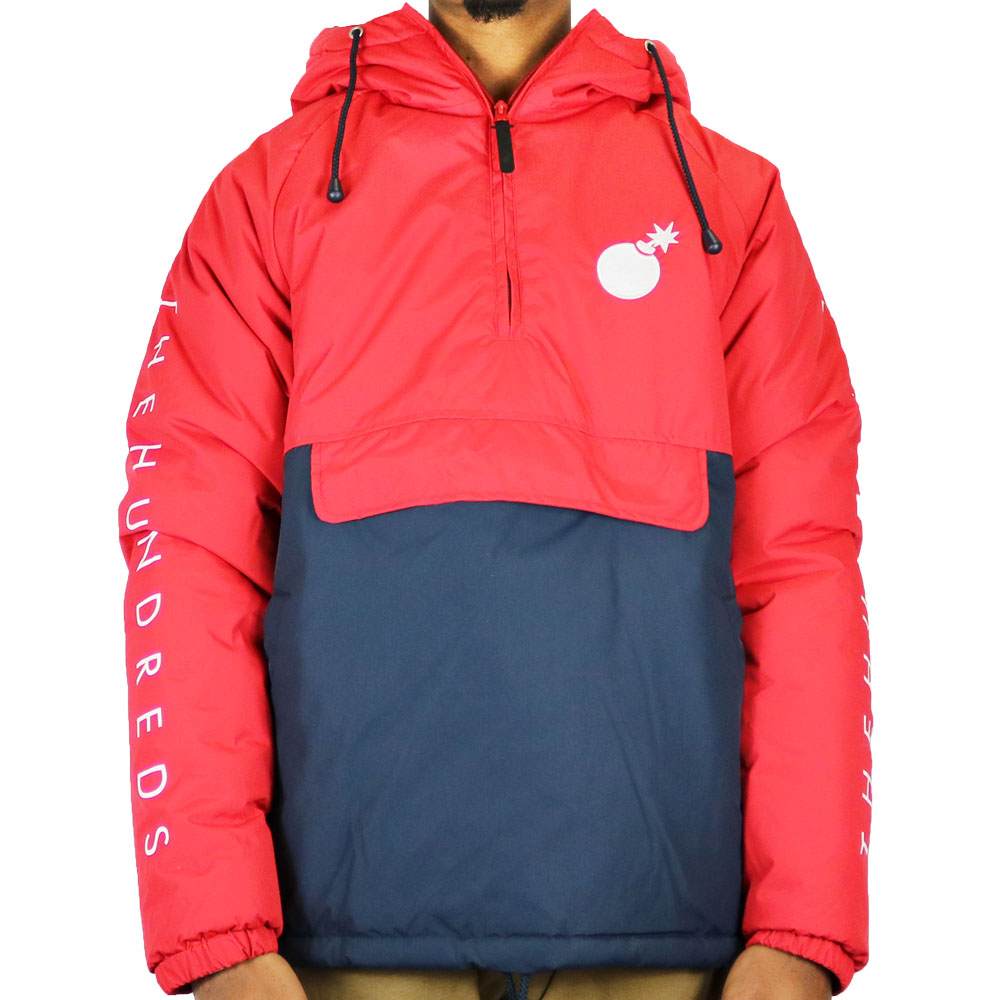 The Hundreds Dell Puffer Red