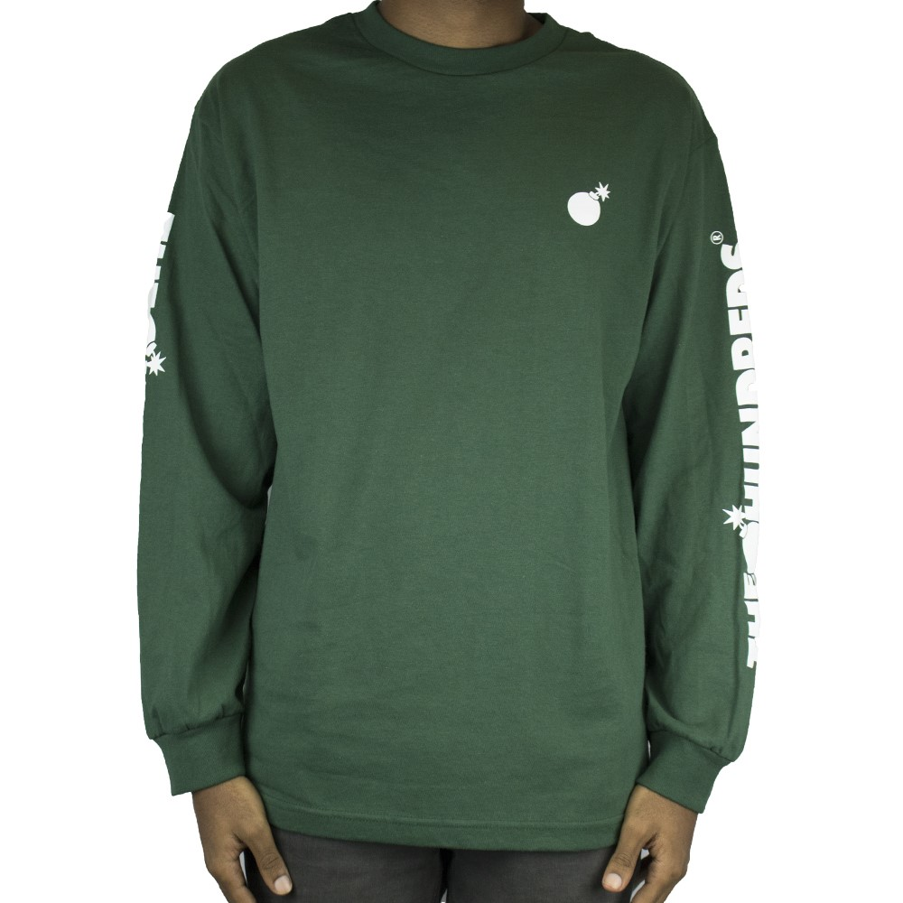 The Hundreds Forever Crest L/S Tee Forest
