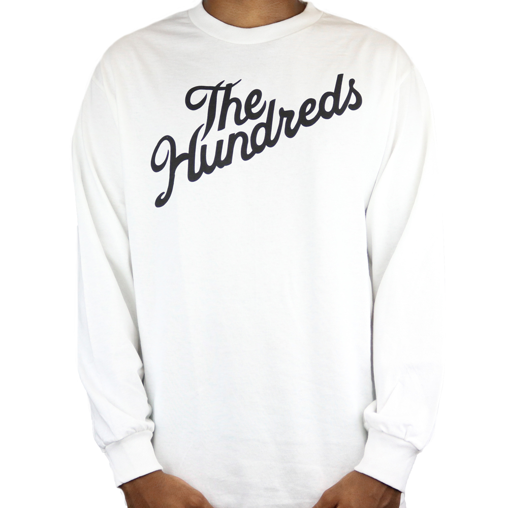 The Hundreds Forever Slant Tee White