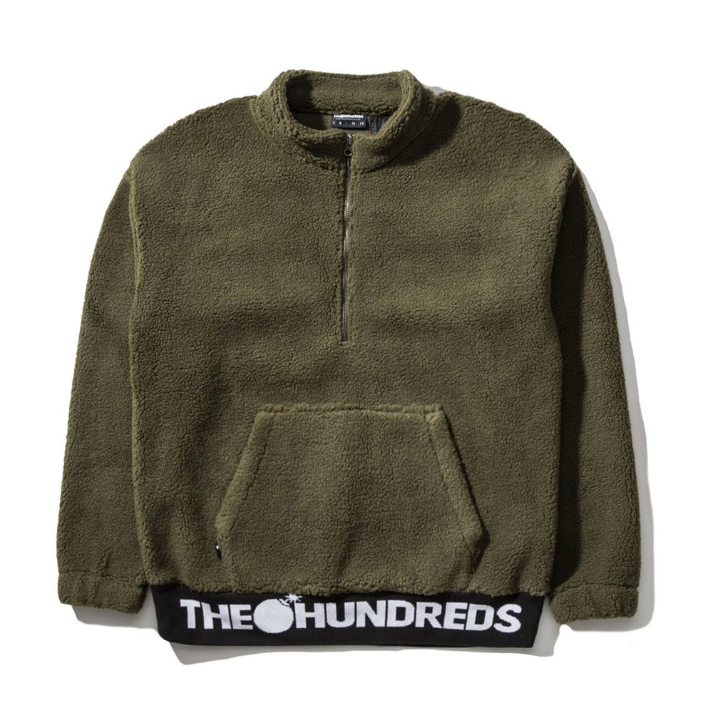 The Hundreds Nepal Half Zip